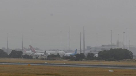 Perth Airport Fog - July 2012