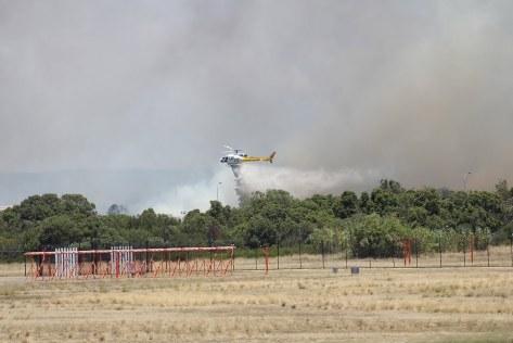 Perth Airport - Bushfire4th January