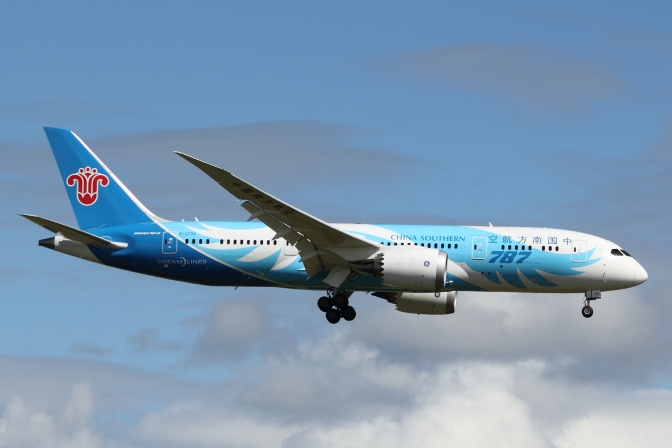 China Southern to launch Boeing 787 service to Perth from April