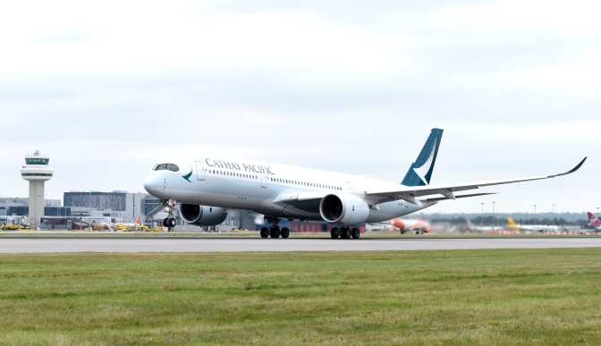 Cathay Pacific to bring Airbus A350 aircraft from October
